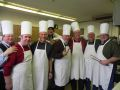 The chefs of the St. George Mens group